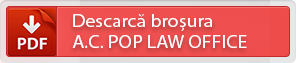 Descarca brosura A.C. POP LAW OFFICE